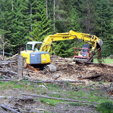 silver city timber land site improvements